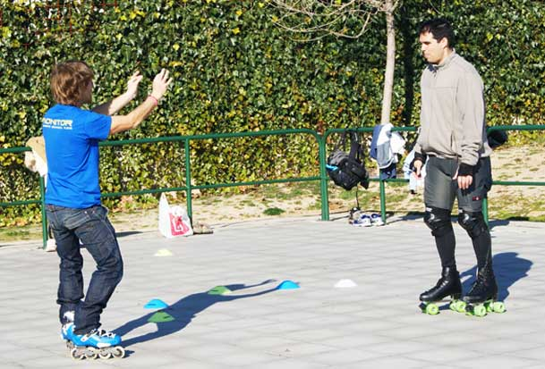 clases particulares patinaje madrid