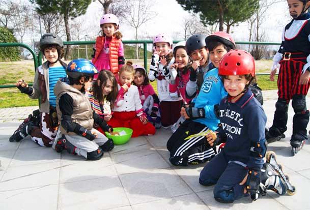 clases patinaje colegios madrid