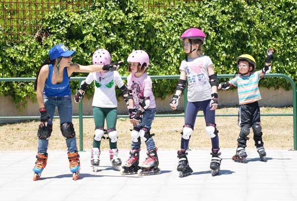 clases patinaje niños