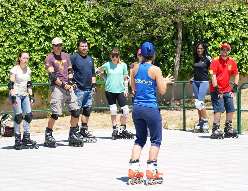 cursos iniciacion patinaje madrid