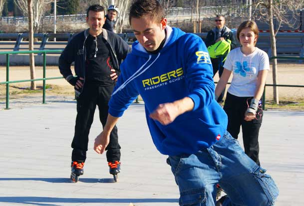 clases patinaje freestyle